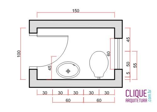 Banheiro ergonomia circula o clique arquitetura for Medidas lavabo