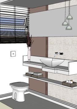 Banheiro lavabo escolhendo o mobili rio clique for Lavabos pequenos medidas