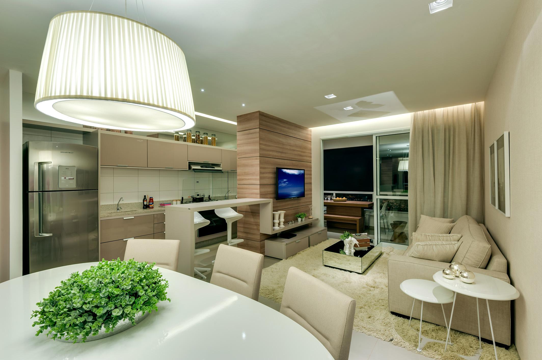 Cozinha Americana Clique Arquitetura ~ Divisoria Para Cozinha E Sala
