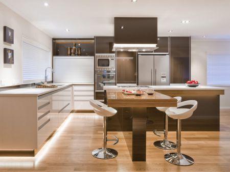 Decora o de cozinha como escolher as banquetas clique arquitetura seu portal de ideias e - Banquetas para cocina ...