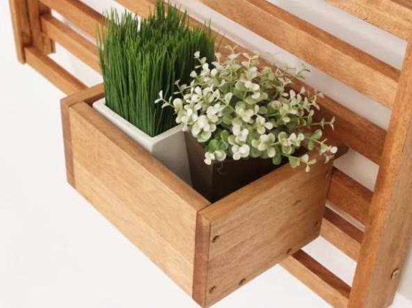 cerca para jardim vertical : cerca para jardim vertical:Painel de Madeira para Jardim Vertical