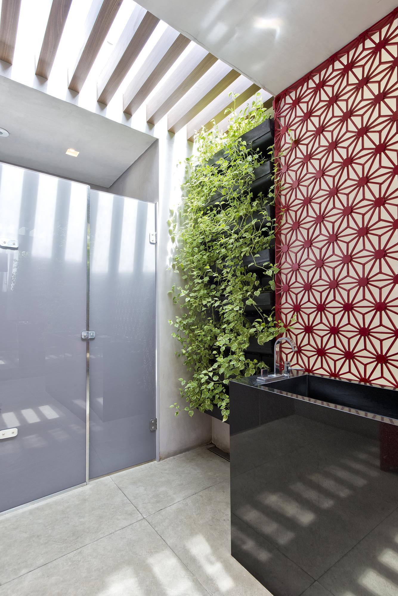 Banheiro Comercial Por Artd3 Arquitetura Design Clique Arquitetura Seu Portal De Ideias E Solucoes