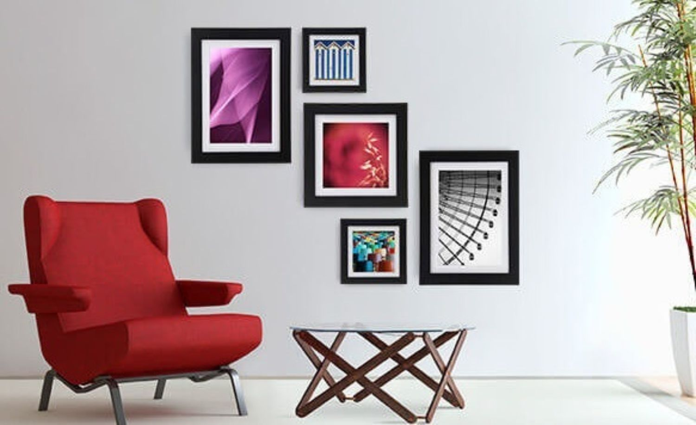 Quadros na decora o de salas clique arquitetura seu for Decoracao sala de estar quadros