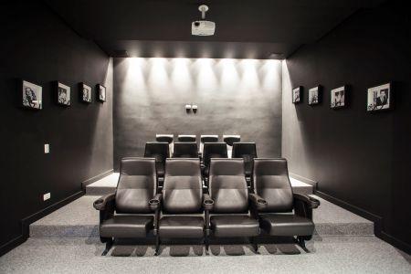Sala de cinema em casa clique arquitetura seu portal - Sala cinema in casa ...