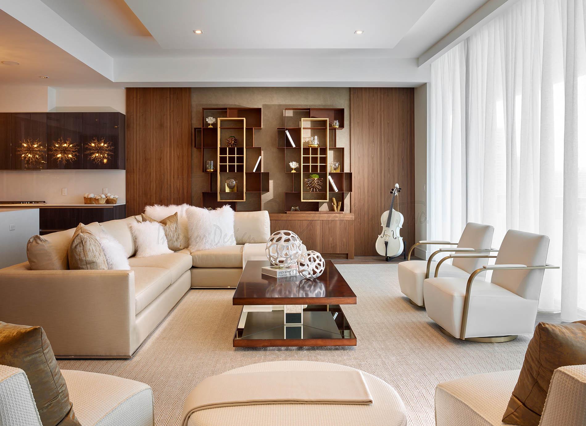 Uma Incr Vel Adega Decora Esta Sala Clique Arquitetura Seu  -> Adega Na Sala De Estar