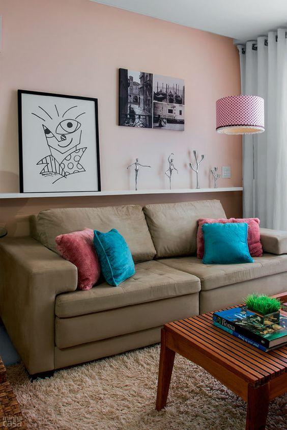 7 dicas de como decorar sua sala gastando pouco clique arquitetura seu portal de ideias e. Black Bedroom Furniture Sets. Home Design Ideas