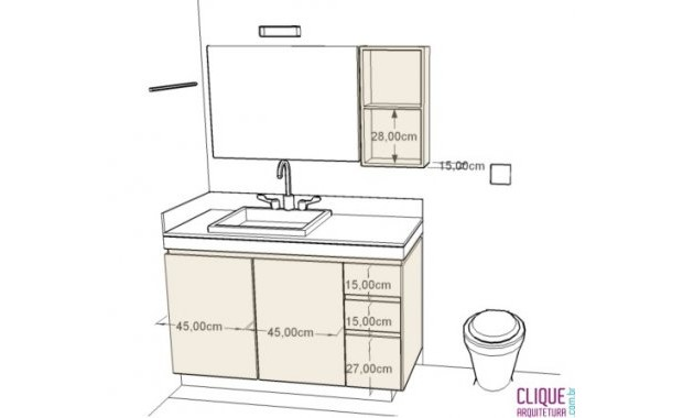 Altura de un lavabo good vilstein sifn desage u tubo de for Altura de lavabo