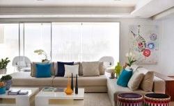 A paixão por gatos inspirou a decoração deste apartamento