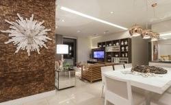 Reforma de apartamento aposta em conceito moderno e funcional