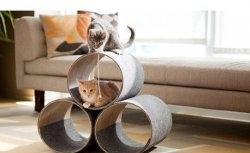 Casa Decorada para Gatos