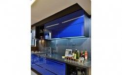 Cozinha Planejada - azul | Campelo