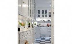 Cozinhas - piso preto e branco | Alvhem