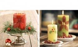 Decoração com Velas 2 - Natal