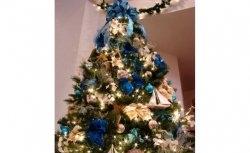 Decoração de Árvores de Natal