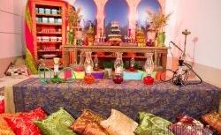 Decoração de Festa Árabe em Casa