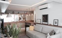 Apartamento pequeno com alma polivalente