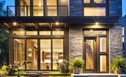 Casa moderna com arquitetura orgânica