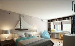 Quarto - casa de praia | Archdizart
