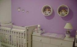 Quarto de Bebê - Lilás |  Ideal