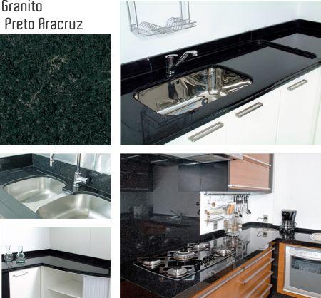 5 tipos de granito preto granittus for Tipos de granito negro