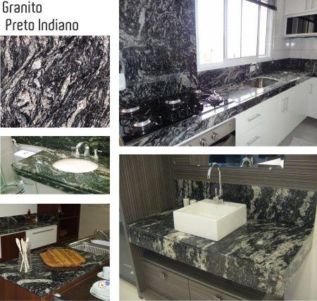 5 tipos de granito preto clique arquitetura for Tipos de granito negro