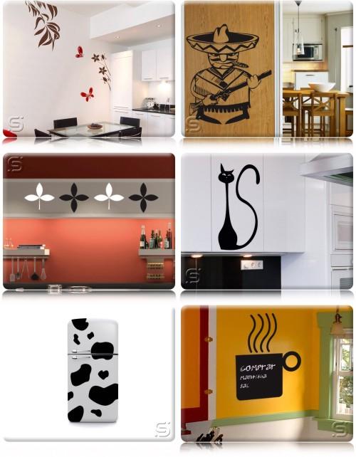 Artesanato Angolano ~ Adesivos Decorativos de Parede Clique Arquitetura Seu portal de Ideias e Soluções