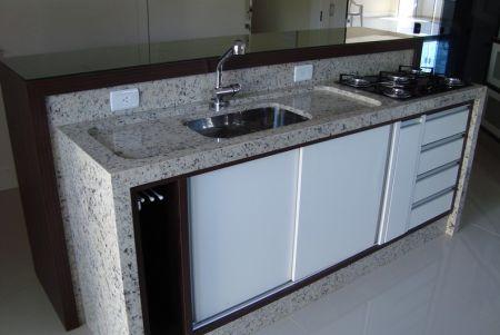 Bancadas de Cozinha em Granito - Clique Arquitetura | Seu ... - photo#27