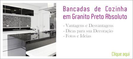 Bancadas de Cozinha em Granito - Clique Arquitetura | Seu ... - photo#30