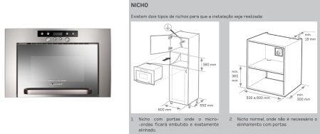 Como escolher o forno de micro ondas clique arquitetura seu portal de ideias e solu es - Microondas de encastrar ...