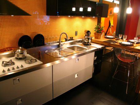 Bancadas de Cozinha em Aço Inox - Clique Arquitetura | Seu ... - photo#6