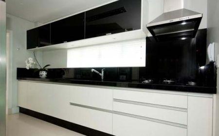 Bancadas de Cozinha em Granito Preto Absoluto - Clique ... - photo#13