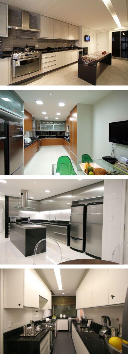 Bancadas de Cozinha em Granito Preto Absoluto - Clique ... - photo#7