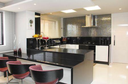 Bancadas de Cozinha em Granito Preto Absoluto - Clique ... - photo#36