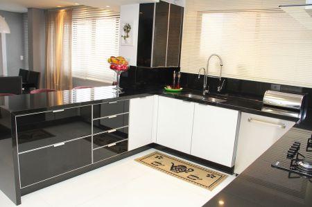Bancadas de Cozinha em Granito Preto Absoluto - Clique ... - photo#12
