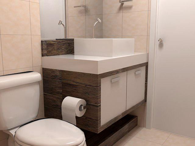 BanheiroLavabo Escolhendo o Mobiliário  Clique Arquitetura -> Altura De Pia De Banheiro
