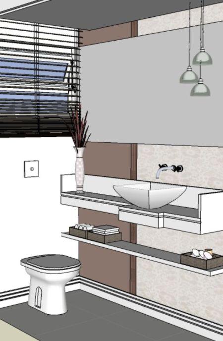 decoracao de lavabos pequenos e simples : decoracao de lavabos pequenos e simples:como decorar lavabos pequenos decoração lavabos 3