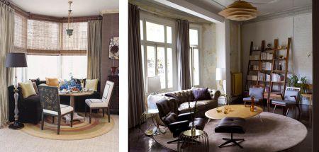 possvel utilizar varo composto por vrias partes ou mesmo circular para conferir o acabamento ideal decorao da sala