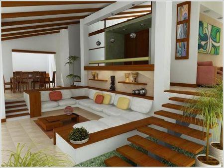 Sof s de alvenaria clique arquitetura seu portal de for Diseno de ambientes interiores