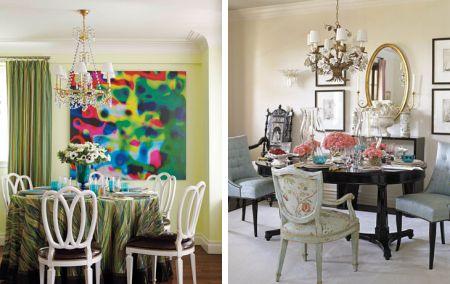 be01fbccb Exemplos de diferentes estilos de salas de jantar. Veja mais fotos  Salas  de Jantar HouseBeautiful