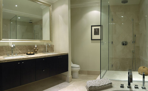 decoracao de banheiro vermelho e branco:Modelos De Banheiros Preto E Branco Pictures to pin on Pinterest