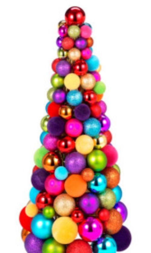 decoracao de arvore de natal azul e prata:Mini árvore :: metal