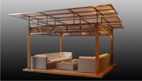 gazebo jardim madeira:Tipos de Gazebo: Mobiliário e Decoração