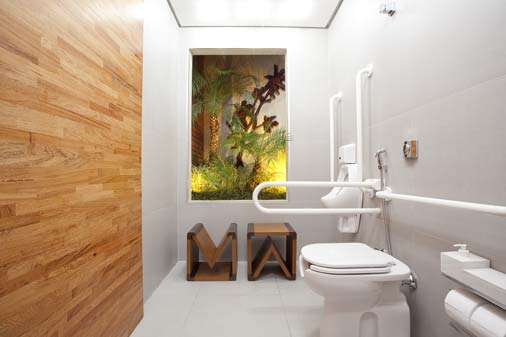 Largura Minima Para Banheiro De Deficiente : Banheiro adaptado clique arquitetura seu portal de