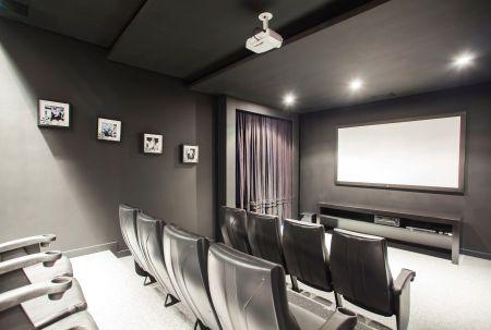 Sala de cinema em casa clique arquitetura seu portal - Realizzare sala cinema in casa ...